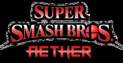 Super Smash Bros. Aether Logo