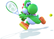 Yoshi - Mario Tennis Ultra Smash