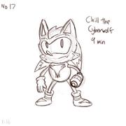 Chill the Cyberwolf pas