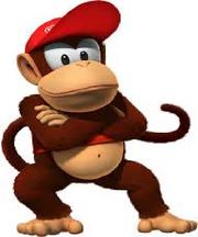 Diddy kong (mario Kirby)