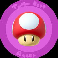 Turbo kart racer mushroom cup