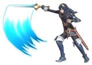 1.5.Lucina swinging her sword