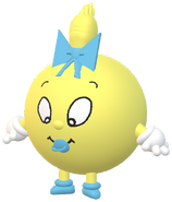 Pac-Baby in Pac-Land 3D Model