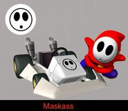 Shy Guy in Mario Kart 9