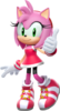 Amy Rose Mario & Sonic at the Rio 2016 Olympic Games