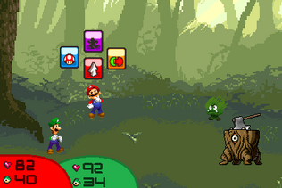 Battle Vs Goomgrass and Stoump