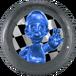 Blue Silver Luigi MKG