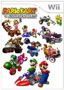 Mario Kart Double Dash!! 3 Cover Art