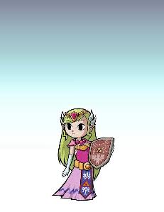 SSBN Toon Zelda