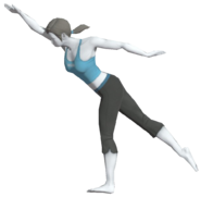 0.18.Female Wii Fit Trainer's Single-Leg Extension