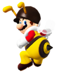 Bee mario by banjo2015-d8mrk8g