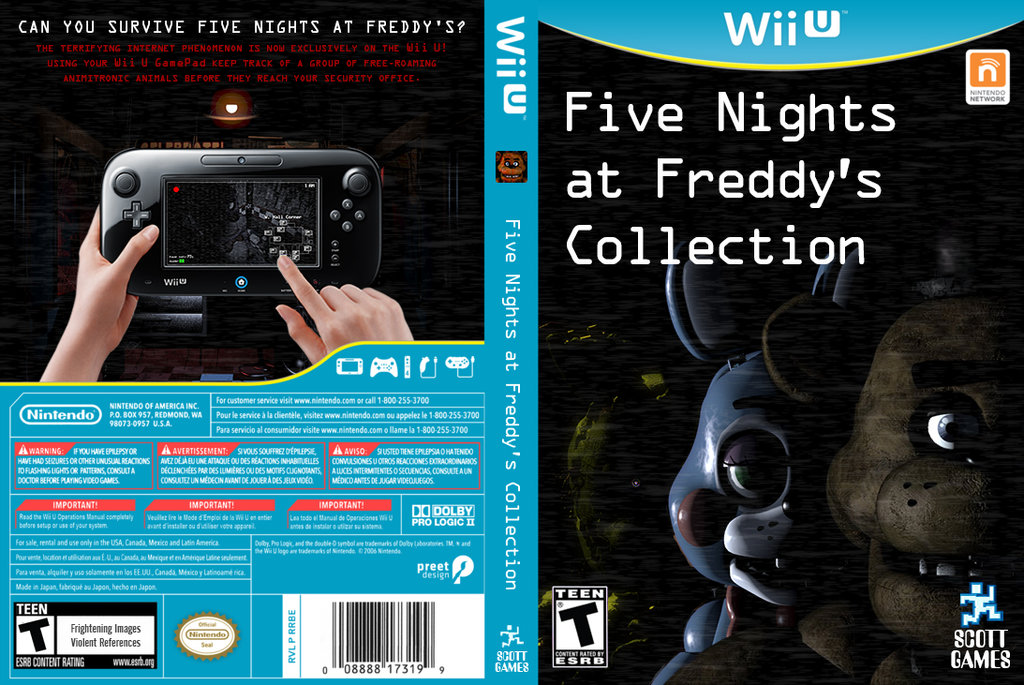 five nights at freddy s collection wii u fantendo nintendo