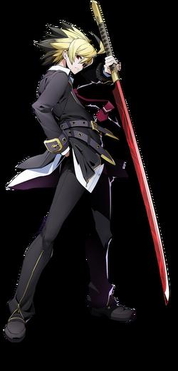 Hyde Kido (BlazBlue Cross Tag Battle, Character Select Artwork)
