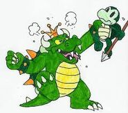 King Koopa and his Troopa