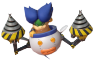 4.5.Ludwig Von Koopa holding up his Drills