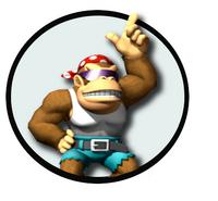 Funky kong logo
