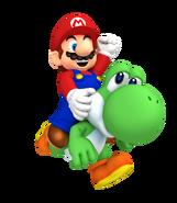 Mario riding yoshi by nintega dario dbintl7-pre