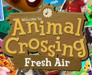 Animal Crossing Fresh Air Logo