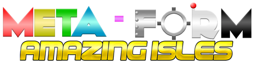 Meta-Form Amazing Isles logo