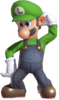 0.1.Luigi scratching his head