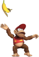 1.14.Diddy Kong Dropping a Banana Peel