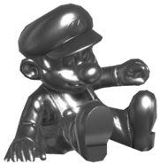 2.Metal Mario Sitting down