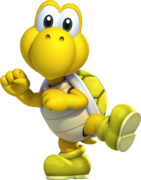MKDX Yellow Koopa Troopa