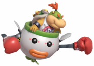4.3. Bowser Jr's Clown Car punching