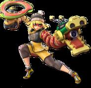 Smash Ultimate Min Min alt 3