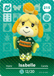 Ac amiibo card s3 isabelle kimono
