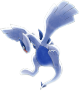 Lugia artwork - Pokemon the Movie 21