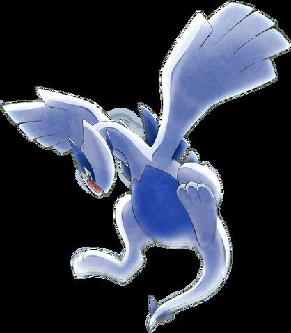 File:Lugia artwork - Pokemon the Movie 21.png