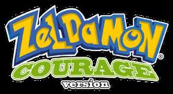 Zeldamon logo courage