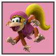 JSSB character preview icon - Dixie Kong