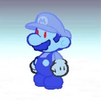 Paper Shadow Mario