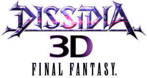 Dissidia 3d logo