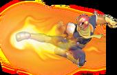 0.13.Captain Falcon's Falcon Kick