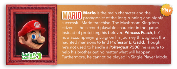 LM3 Character Info - Mario