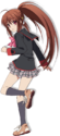 Little Busters! anime - Rin Natsume