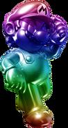 Rainbow Metal Mario