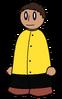 Shirt Yellow Buttoned Generic