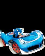 Sonic official art