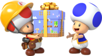 Super Mario Maker - Toads Artwork 01