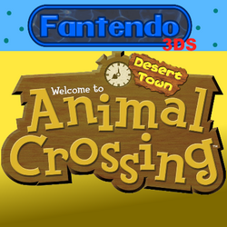 Animal Crossing Desert town box