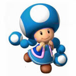 Blue Toadette