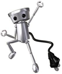 Chibi-Robo the awesome