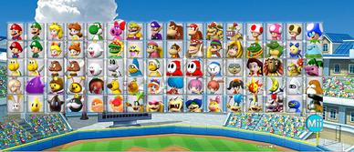 MarioBaseball3DSRoster