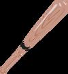 Baseball-bat-clipart-baseball bat art christmas xmas toy-3333px