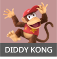 Diddy Kong SSBAether