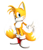 Miles tails prower 2 adventure pose upgrated by finland1-d7b166v